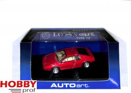 AutoArt Lotus Espirit S2 (Type 97) - Red