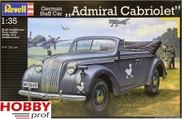 Revell 03099 German Staff Car Admiral Cabriolet