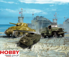 Revell U.S. Army Vehicles (WWII) #03350