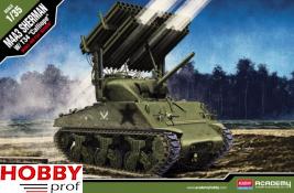 "Academy M4A3 Sherman W/ T34 ""Calliope"" #13294"