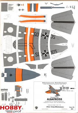 Bouwplaat Albatros #1603