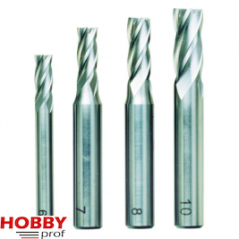 Proxxon Schachtfrezen  6-10mm 4 stuks 24620