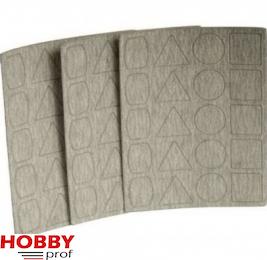 Proxxon Schuurpapier K180 voor PS13