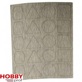 Proxxon Schuurpapier K400 voor PS13