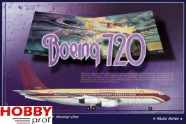 Roden 314 Boeing 720 Starship one 1:144