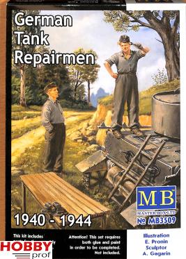 Master Box-LTD #3509 German Tank Repairmen