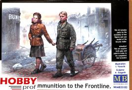 Master Box-LTD #35182 Volkssturm. Ammunition for the frontline