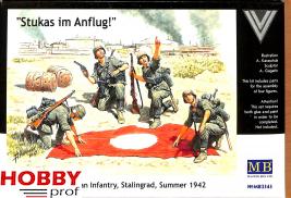 "Master Box-LTD #3545 ""Stukas flying!"" German Infantry"