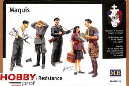 Master Box-LTD #3551 Maquis, French Resistance