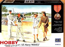 "Master Box-LTD #3556 ""Women at War: US Navy WAVES"""