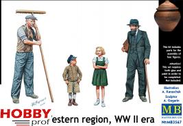Master Box-LTD Western Region, WW II era 1:35 #3567