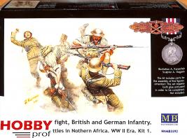 Master Box-LTD #3592 Hand-to-hand fight, British and German Infantry