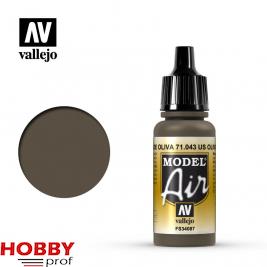 Vallejo model air olive drab