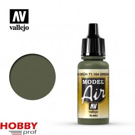 Vallejo model air green