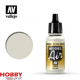 Vallejo model air white grey