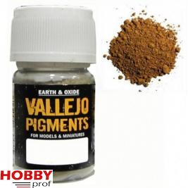 Vallejo pigments titanium light yellow ochre