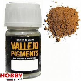 Vallejo pigments dark yellow ochre