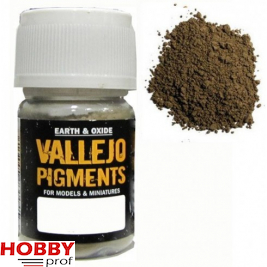 Vallejo pigments light sienna
