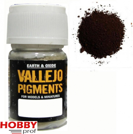 Vallejo pigments burnt umber