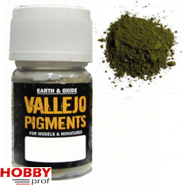 Vallejo pigments chrome oxide green