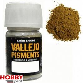 Vallejo pigments fresh rust