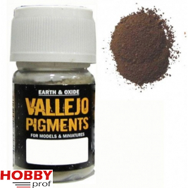 Vallejo pigments old rust