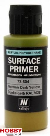 Vallejo surface primer 60ml German Dark yellow