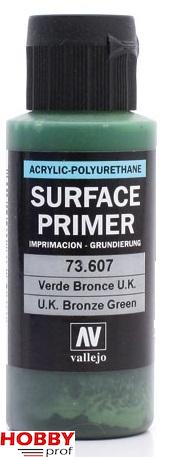 Vallejo surface primer 60ml UK bronze green