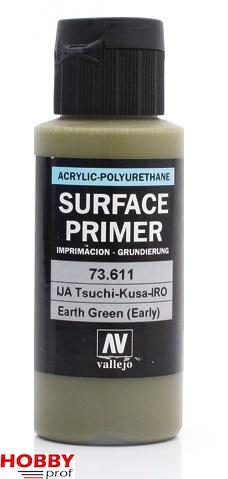 Vallejo surface primer 60ml ija-tsuchi-kusa-iro earth green (early)