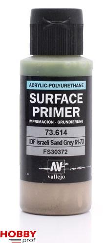 Vallejo surface primer 60ml idf israeli sand grey 61-73