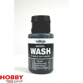 Vallejo model wash dark grey