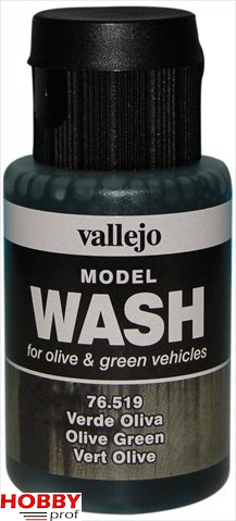 Vallejo model wash olive green