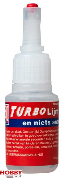 Turbo lijm 20gr. (dunne uitvoering)