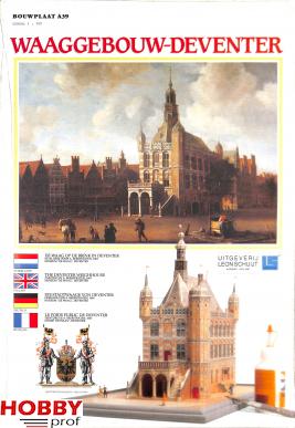 Bouwplaat Waaggebouw-Deventer #A 39
