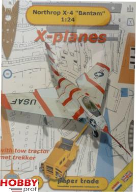 Bouwplaat van Northrop X4 Bantam