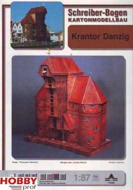 Bouwplaat Krantor Danzig
