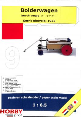 Bouwplaat Bolderwagen 1:6,5