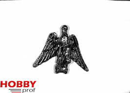 Ship ornament, bird spreading wings, h.28mm
