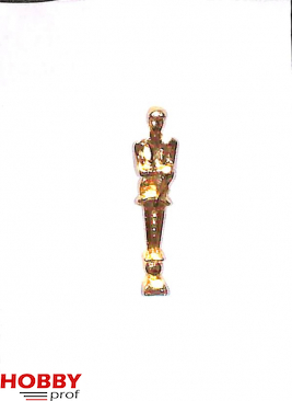 Ship ornament, half naked woman crossing arms, h.32mm