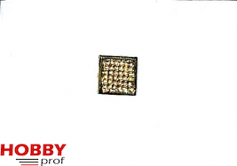 grid ornament 10x10mm