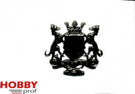 Coat of arms, Bretagne 30x32mm