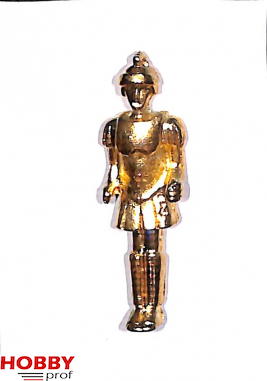 Ship ornament, roman soldier with helmet and chestpiece, h.50mm