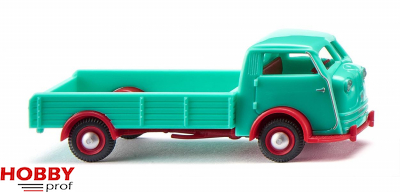 Tempo Matador low-side flatbed – turquoise